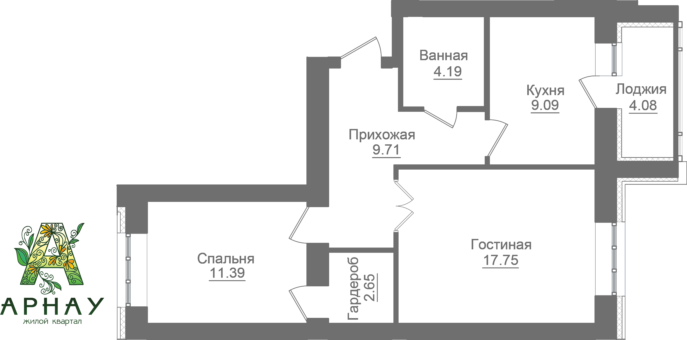 Квартира 93