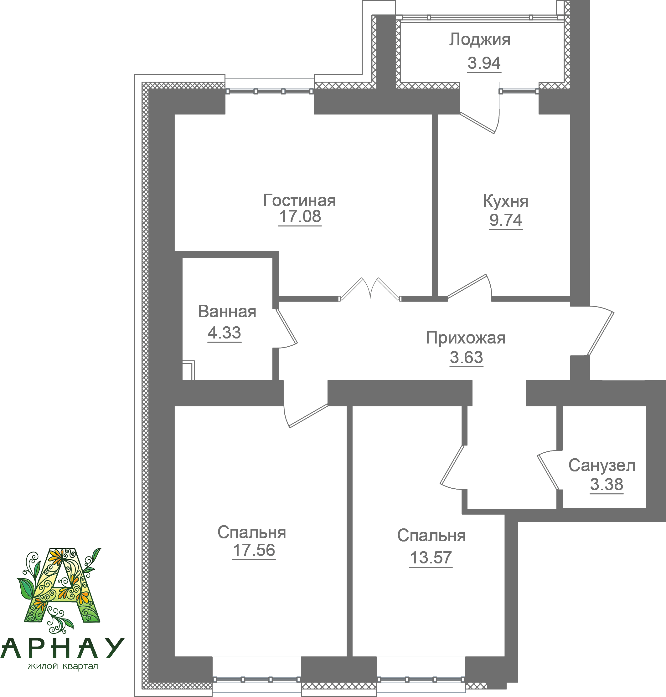 Квартира 1